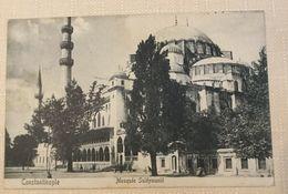 AK  TURKEY   CONSTANTINOPLE  MOSQUEE SULEYMANIE   1911. - Turquie
