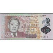 TWN - MAURITIUS 64 - 25 Rupees 2013 Polymer - Prefix HI UNC - Mauritius