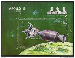 Yemen Arab Republic Space Shuttle Apollo 9 Astronomer M/s Cancelled #13483 - Space