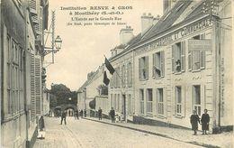 MONTLHERY - Institution Resve & Gros, L'entrée Sur La Grande Rue.. - Montlhery