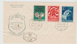 A-RII242 / - ÖSTERREICH - Kärnten Abstimmung 1950 Auf FDC - 1945-60 Briefe U. Dokumente