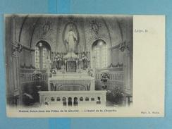 Liège Maison Saint-Jean Des Filles De La Charité L'Autel De La Chapelle - Liège