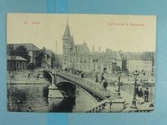 Liège La Poste Et La Passerelle - Liege