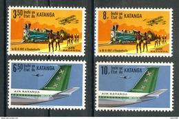 COB  75 à 78  **  (K44) - Katanga