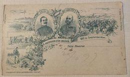 AK  HUNGARY   TATA TOVAROS   LITHO  1897. - Ungarn