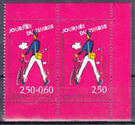 Paire De T.-P Neufs** Journée Du Timbre Les Métiers De La Poste Distribution Du Courrier N° P2793A (Yvert) - France 1993 - Nuevos
