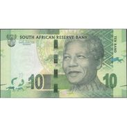 TWN - SOUTH AFRICA 133 - 10 Rand 2012 BN XXXXXXX A - Signature: Marcus UNC - South Africa