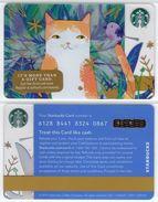 Starbucks - USA - 2016 - CN 6128 8441 Cat - Gift Cards