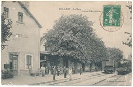 BEILLANT - La Gare, Ligne D'Angoulème - France
