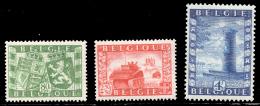 Belgium 0823/25*  Union Belgo-Brittannique  H - Belgique