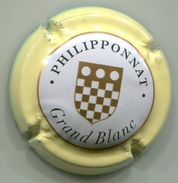 CAPSULE-CHAMPAGNE PHILIPPONNAT N°37b Grand Blanc, Contour Jaune-crème - Sonstige