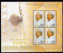 Lesotho 2005 Pope John Paul II Commemoration. MNH - Lesotho (1966-...)