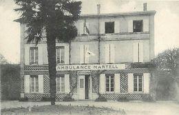 A 17 - 182 - AMBULANCE MARTELL NON LOCALISEE - SANTE - MILITARIA - - Santé