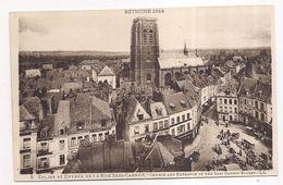 Béthune , église Et Entrée De La Rue Sadi-carnot - Bethune