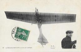 Aéroplane: Le Monoplan Antoinette Piloté Par Latham (en Médaillon) - Edition F.F. Paris - ....-1914: Précurseurs
