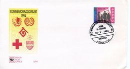 MALTA  -  1994 INTERNATIONAL YEAR OF THE FAMILY   FDC2176 - Malta
