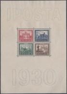 DR Block 1, Postfrisch **, IPOSTA 1930 - Germany