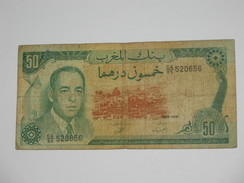 50 Dirhams 1985-1405 Maroc - Banque Du Maroc **** EN ACHAT IMMEDIAT **** - Morocco