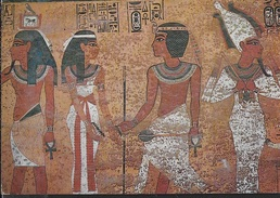 EGITTO - LUXOR - OSIRIDE - VIAGGIATA1979 FRANCOBOLLO ASPORTATO - Luxor