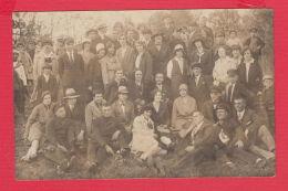 221034 / Real Photo MITOV - SAMOKOV - 1929 GARDEN GROUP SCHOOL BOY GIRL THEACHER Bulgaria Bulgarie Bulgarien Bulgarije - Anonieme Personen
