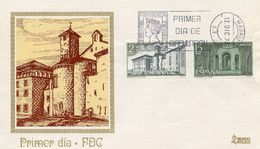 SPAIN  -  1974 Castles And Abbeys   FDC2185 - FDC