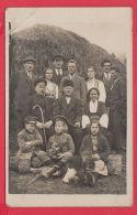 221059 / Real Photo 1923 FAMILY MAN WOMAN GIRL BOY CAMERA  Bulgaria Bulgarie Bulgarien Bulgarije - Anonieme Personen