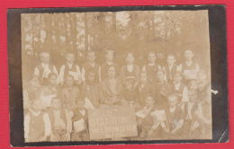 221075 / Real Photo Vrazhdebna / SOFIA REGION / - 1926 SCHOOL BOY GIRL THEACHER Bulgaria Bulgarie Bulgarien Bulgarije - Anonieme Personen
