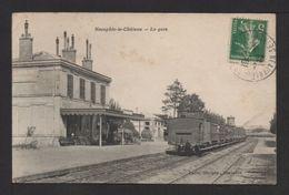 CPA. Dépt.78. NEAUPHLE-le-CHÂTEAU .Train En Gare . - Neauphle Le Chateau