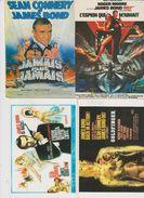 CINEMA . Lot 4 Cpm 10x15 Affiches Films De JAMES BOND ( Dont 3 Avec Sean CONNERY ) - Manifesti Su Carta