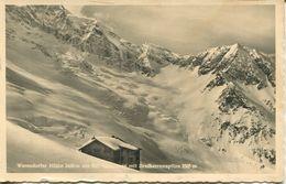 Warnsdorfer Hütte Mit Dreiherrenspitze 1939 (002452) - Krimml