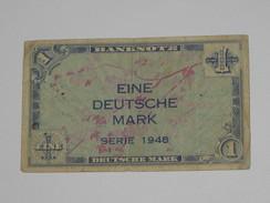 1 Eine Deutsche Mark Série 1948 - BANKNOTE - Allied Occupation WWII - ALLEMAGNE   **** EN ACHAT IMMEDIAT **** - [ 5] 1945-1949 : Bezetting Door De Geallieerden