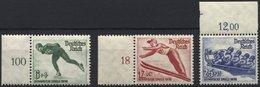 Dt. Reich 600-02 **, 1935, Olympische Winterspiele, Prachtsatz, Mi. 65.- - Germany