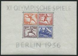 Dt. Reich Bl. 5/6 **, 1936, Blockpaar Olympische Spiele, Pracht, Mi. 260.- - Germany