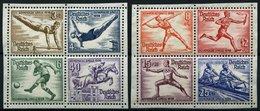 Dt. Reich 624-31 **, 1936, Olympische Spiele, 2 Herzstücke, Pracht, Mi. (80.-) - Germany