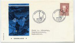 GREENLAND 1964 Kleinschmidt 150th Anniversary On FDC.  Michel 64 - FDC