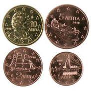 Griekenland    2017    1-2-5 En 10 Cent   UNC Uit De Rol  UNC Du Rouleaux  !! - Grèce