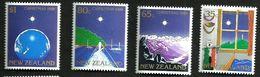 NEW ZEALAND CHRISTMAS SET OF 4 35 CENTS-$1  MINTNH 1989 SG1520-23 READ DESCRIPTION !! - Neufs