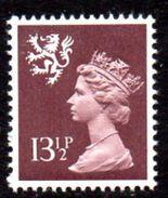 GB Scotland 1971-93 13½p Harrison Printing Regional Machin, MNH, SG S34 - Regional Issues