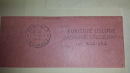 JUGOSLAVIA 1970 KORISTITE ... Beograd Cancel Cancellation - 1945-1992 Repubblica Socialista Federale Di Jugoslavia