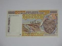 1000 Mille Francs 1993 -SENEGAL - Banque Centrale Des états De L'Afrique De L'ouest  **** EN ACHAT IMMEDIAT **** - Senegal