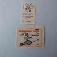Petit Lot De Vieux Papiers Sur Mons  Belgique - Documentos Antiguos