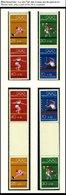ZUSAMMENDRUCKE MH 17-SZ 2b **, 1972, Olympische Spiele Komplett, Pracht, Mi. 157.- - Booklets