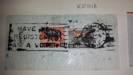 KENIA Kenya HAVE YOU REGISTERED ... 1967 Mombasa Cancel Cancellation - Kenia (1963-...)