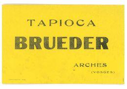 BUVARD TAPIOCA BRUEDER ARCHES 88 - Zwieback
