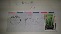 KUWAIT INTERNATIONAL ... 1968 Refinery Iol Petroil Petrol Inauguration Cancel Cancellation - Kuwait
