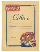 PROTEGE CAHIER FRANCORUSSE HISTOIRE NATURELLE - Buvards, Protège-cahiers Illustrés