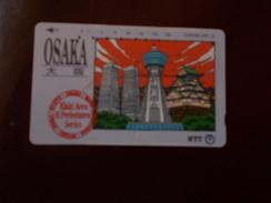 A324  Telephone Card Osaka Giappone - Télécartes