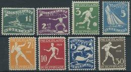 NIEDERLANDE 205-12 **, 1928, Olympische Sommerspiele, Prachtsatz, Mi. 220.- - Netherlands