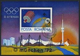 RUMÄNIEN Bl. 98 **, 1972, Block Olympische Spiele, Feinst, Mi. 80.- - Romania