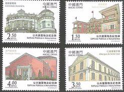 Macau 2011 Public Buildings And Monuments Set Of 4 MNH - Neufs